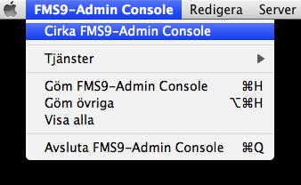 Cirka FMS9-Admin Console